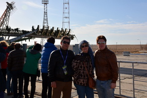 Baikonur cosmodrome tour - Progress spacecraft launch