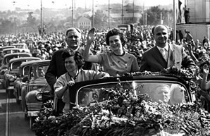 50th anniversary of the first woman Valentine Tereshkova space flight