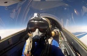 Полеты на истребителе МиГ-29