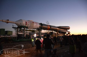 Baikonur spaceport - Soyuz TMA-19M lauch tour