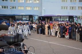 Baikonur Spaceport Tour, Soyuz TMA-18M