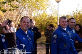 Baikonur tour - Soyuz TMA-06M launch