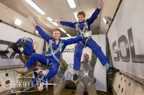 "Zero-G flight, ""Hyundai Solaris"" Project"
