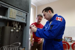 Space Training Program for our Guests from Canada