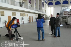 Shooting of Mongolian TV program
