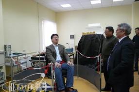 Shooting of Mongolian TV program