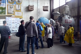 German tourists on MAKS-2011