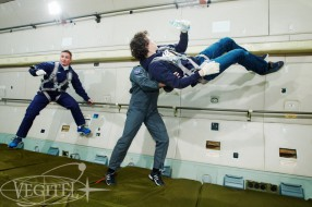 Zero-G flight on April 26