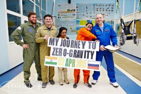 Zero Gravity flight, april 2015