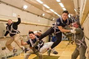 Zero-G flight, October 2014