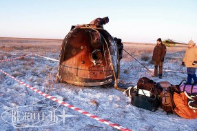 Soyuz TMA-02M spacecraft landing tour