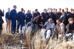 The Earth welcomes its heroes - Soyuz TMA-08M landing tour
