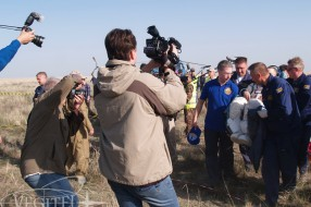 Steppe adventures – Soyuz TMA-11M landing expedition