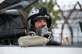 The American Flies Onboard Legendary MiG-29 Jet Fighter
