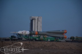 Baikonur tour - Soyuz MS-03 Launch