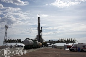 Baikonur spaceport, Soyuz  TMA-04M launch tour