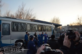 Baikonur trip, Soyuz TMA-16M launch