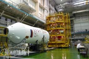 Soyuz TMA-22 launch - tour to Baikonur cosmodrome