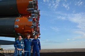Baikonur spaceport, Soyuz TMA-14M launch