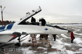 Jet fighter flights - winter 2014/2015