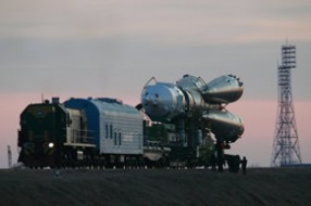 Soyuz TMA-22 launch - tour to Baikonur cosmodrome