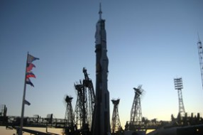 Baikonur visiting tour: Soyuz TMA-03M launch