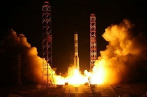 Baikonur tour: two launches at once