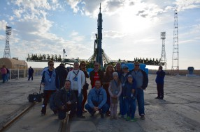 Baikonur tour, Soyuz TMA-14M launch