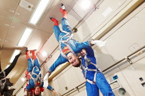 Zero-Gravity for Super Team