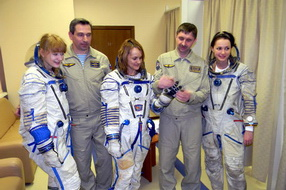 Corporate event in Star City, Russia - cosmonaut training center