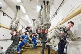 Corporate event - Zero-G flight