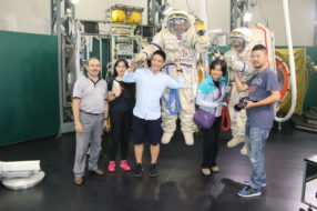 Space program for our Chinese guests
