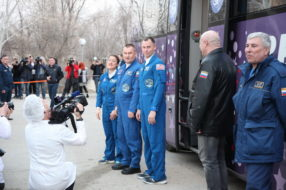 Baikonur cosmodrome tour, March 2019