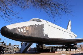 Buran shuttle. Baikonur Cosmodrome, October 2020